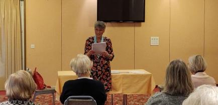Visite de Mme Hanna Lienhard Gouverneur